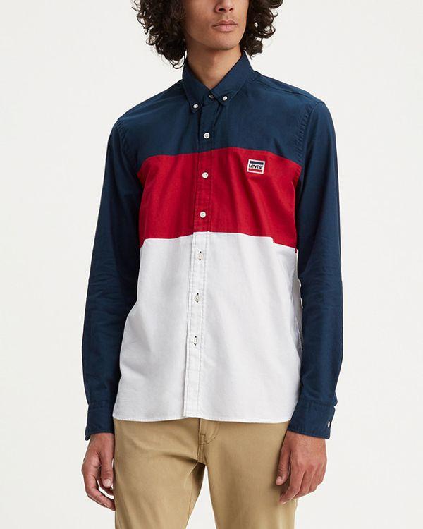 Levi's Levi's Košulja plava crvena bijela