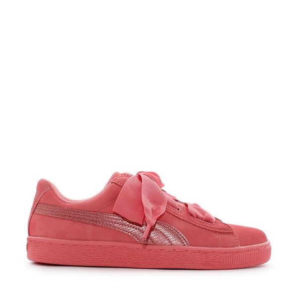 new concept ac3df 961b4 Puma Suede Heart SNK Jr Shell Pink-Shell Pink
