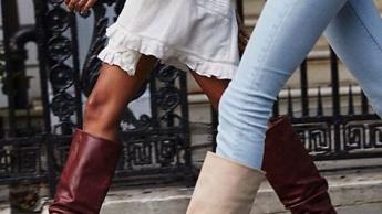 Visoke čizme na 5 načina