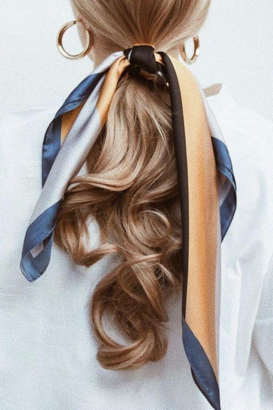 Marama kao modni dodatak u kosi