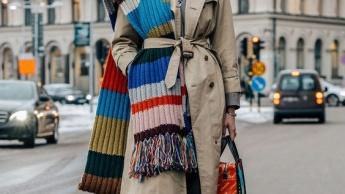 Kako nositi šal i maramu ove zime